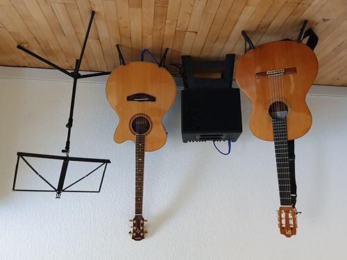 Guitar fingerpicking - øvede