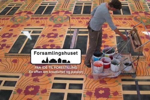 Forsamlingshuset: Fra idé til forestilling - en aften i Forsamlingshuset om kreativitet og passion