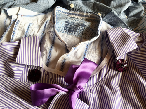 Sustainable Sewing: transforming shirts - lørdagsworkshop