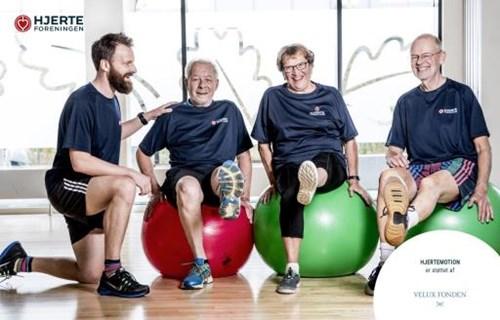 Hjerteforeningen Aarhus: Motionshold 1 v) Fysioterapeut Julie Tanderup Skovdal