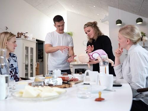 Barselshuset: Online workshop: Babyførstehjælp