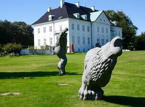 AarhusGuiderne: Marselisborg Slotspark - Dronningens Aarhus